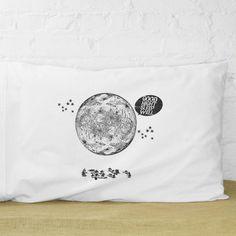 Good Night, Moon pillowcase | Kin Ship