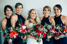 Real Wedding at Babalou Kingscliff featured on Casuarina Weddings blog! #bride #bridesmaids #bouquet #flowers