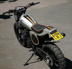 Dude, this thing is on ebay, and is a work of art based on a Honda XL 600 R