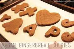Bookmark these vegan gingerbread cookies to make around the Holiday season. Ginger Bread Cookies Recipe, Cookie Recipes, Vegan Gingerbread Cookies, Cook At Home, Cookie Cutters, Cooking, Desserts, Food, Cuisine