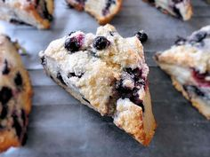 my favorite blueberry scone recipe ! easy easy!
