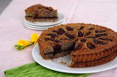 Mákos csupa szilvás pite Mini Desserts, Just Desserts, Miniature Food, Healthy Recipes, Healthy Foods, Biscotti, Food And Drink, Miniatures, Sweets