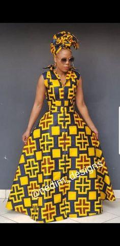 AFRICAN MAXI DRESSES @nedim_designs ☎️+27829652653 Women Fashion African Wedding Attire, African Attire, African Wear, African Style, African Women, Long African Dresses, African Print Dresses, African Fashion Dresses, African Outfits