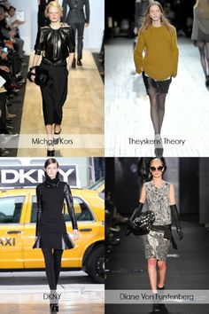 Fall Trend 2012: Luxe Leather Accents