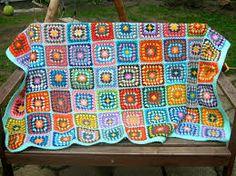 100 coloridos cuadrados para ganchillo - Buscar con Google