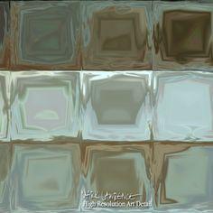 Modern Tile Art   Tile Art #12, 2013   Modern Abstract Painting