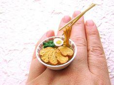 Food rings Souzou Creations Kawaii Cute Japanese Floating Ring - Chashumen - Ramen