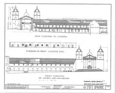 1000 images about school california missions projects on for Mission santa barbara floor plan