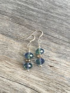 A personal favorite from my Etsy shop https://www.etsy.com/listing/154639279/sterling-silver-crystal-blue-green