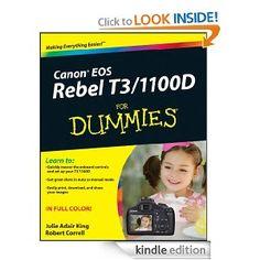 Canon EOS Rebel T3/1100D For Dummies --- http://www.amazon.com/Canon-Rebel-1100D-Dummies-ebook/dp/B005DIAPUE/?tag=saintbeware-20