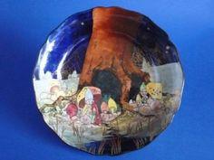 Royal Doulton 'Gnomes B' or 'Munchkins' Leeds Dish D4697 c1928
