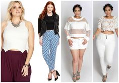 Crop Tops- The 2014 Plus Size Spring Trends Report on The Curvy Fashionista
