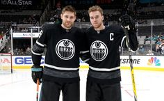 "Edmonton Oilers on Twitter: ""GAME ON! #NHLAllStar #LetsGoOilers… "" Hockey, Edmonton Oilers, Canada, Nhl, All Star, Sports, Boys, Game, Twitter"