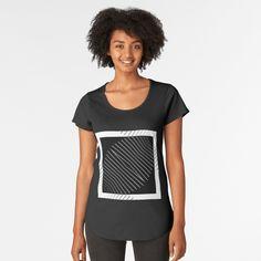 Premium Scoop T-Shirt by dahleea Cotton Tote Bags, Iphone Case Covers, 2d, Chiffon Tops, T Shirt, Stuff To Buy, Fashion, Moda, Tee
