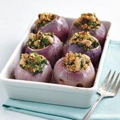 Baked Couscous-Stuffed Onions