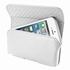 Piel Frama 602 White Leather Horizontal Pouch for Apple iPhone 5/5S    $59.00    @Cases.com #PielFrama #AppleiPhone5 #iPhone5S #iPhones5SCases #WhiteLeatherCase  https://www.cases.com/piel-frama-602-white-leather-horizontal-pouch-for-apple-iphone-5-5s/
