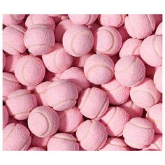Pink Tennis Ball Chewing Gum // Puppy Party Ideas