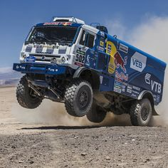 Keep on truckin'.  #dakar #instacar #motorsports by redbull