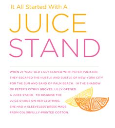 It all started with a juice stand...
