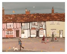 Hall Street, Long Melford - - Lucy Grossmith