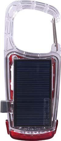 CLIP-MINI Solar & USB Rechargeable LED Light