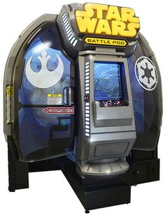 Star Wars Battle Pod - the ultimate game machine