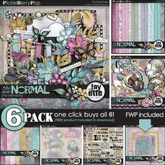 The New Normal {6-Pack Plus FWP} by Fayette Designs