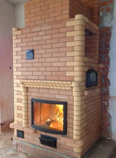 Хлебные печи Pizza Oven Fireplace, Home Fireplace, Rocket Mass Heater, Outdoor Oven, Brick Design, Rocket Stoves, Brickwork, Modern Materials, Bbq Grill
