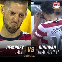 #USMNT - Clint Dempsey #8 & Landon Donovan #10 #Soccer