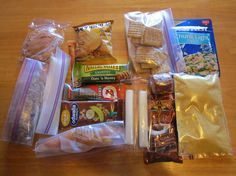 5-Day Ultralight Backpacking Meal Plan | Erik The Black's Backpacking Blog