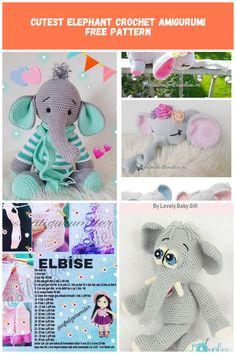 BeyazBegonvil: Amigurumi Fil Modeli Amigurumi Elephant