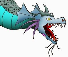 dragon coloring pages | http://coloring.filminspector.com/2014/11/dragon-coloring-pages.html
