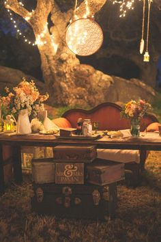 Pre wedding vintage ideas decor