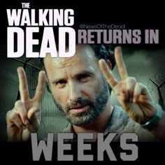 4 weeks and the walking dead will be back!!!!!!!!!!!!!!!!!!!!!!!!!!!!!!!!!!!