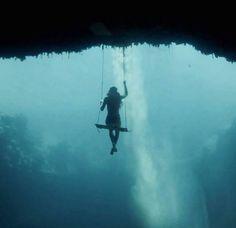 Dean Blue Hole - Best Travel 2016 in Long Island, Bahamas - Trips Channel