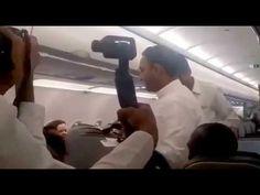 Darshan y prasadan en vuelo Mumbai - Nueva Dehli_2017-11-26.