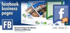 Facebook Business Pages by Marina Golikova / MMstudio