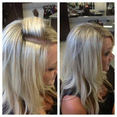 Hair Extensions On Pinterest Tape In Hair Extensions