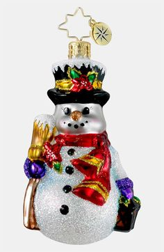 Christopher Radko 'Sno-Glow Stroll' Ornament available at #Nordstrom