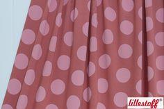 lillestoff » Big Dots, marsala « // hier erhältlich: http://www.lillestoff.com/bigdots-marsala.html