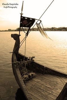 I think my life would be complete if I had a Viking longboat Welet by ~ScorpiaRoslin