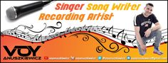 Professional Singer Song Writer Recording Artist Facebook Cover