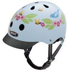 Nutcase Bluebirds & Bees Little Nutty Bicycle Helmet