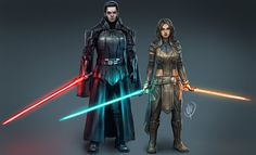 I drew my sister& Star Wars oc, Elainn Drallin along with her Uncle, Darth Travus (Jaeon Drallin) She is one of the pupils of Luke Skywalker. She was killed by Kylo Ren after the Jedi massacre, HA. Star Wars Characters Pictures, Star Wars Images, Star Wars Concept Art, Star Wars Fan Art, Star Wars Rpg, Star Wars Jedi, Star Wars Timeline, Jedi Cosplay, Cyberpunk