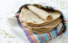 Why go store-bought when you can make nutritious oatmeal tortillas at home? Oatmeal Tortilla Recipe, Vegan Mexican Recipes, Healthy Recipes, Healthy Food, Carrot Recipes, Lentil Recipes, Healthy Baking, Healthy Meals, Slow Cooker Bacon