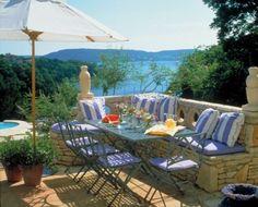 mediterranean patio by McDugald-Steele Landscape Architects