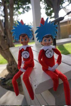 Details about elf on shelf clothes and accessories, Elf costume, Elf 1 And Elf 2 – elf on the shelf ideas Merry Christmas, Christmas Elf, Christmas Ornaments, White Christmas, Christmas Ideas, Christmas Costumes, Christmas Stockings, Elf On The Self, The Elf