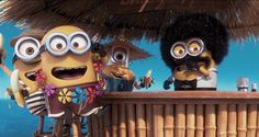 There is always a party with The Minions theminiondave.com