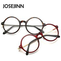 3333ea69e95 Aliexpress.com  Comprar Ronda de moda Gafas Mujeres Miopía Gafas de marco de  La Vendimia en la Llanura Lentes gafas de grau de vintage frame fiable ...