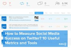 Twitter has the highest CTR rates among all social nets. How to measure your Twitter marketing? Read this article: